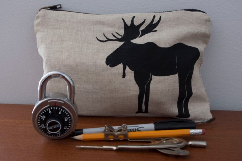 moose with lock